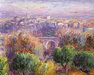 Town of Vence 1925 By William Glackens