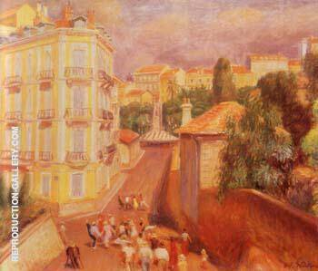 Fete Du Suquet 1932 By William Glackens - Oil Paintings & Art Reproductions - Reproduction Gallery