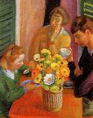 Breakfast Porch 1925 By William Glackens