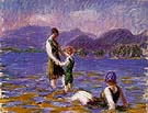 Lake Bathers 1920 By William Glackens