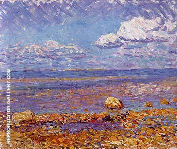 Wickford Low Tide 1908 By William Glackens