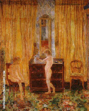 Children Washing 1886 By James Ensor - Oil Paintings & Art Reproductions - Reproduction Gallery