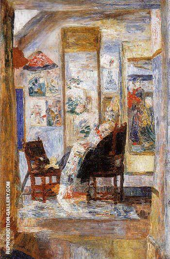 Skeleton Looking at Chinoiseries 1910 By James Ensor - Oil Paintings & Art Reproductions - Reproduction Gallery