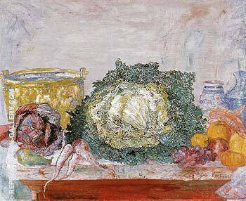 The Ornamental Cabbage 1894 By James Ensor