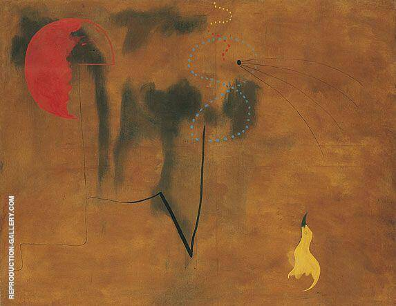 Painting 1925 By Joan Miro