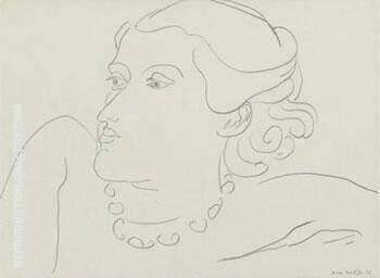 Lydia 1936 By Henri Matisse