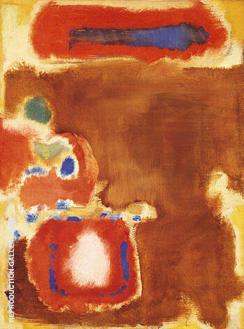 Untitled 1947 By Mark Rothko Replica Paintings on Canvas - Reproduction Gallery