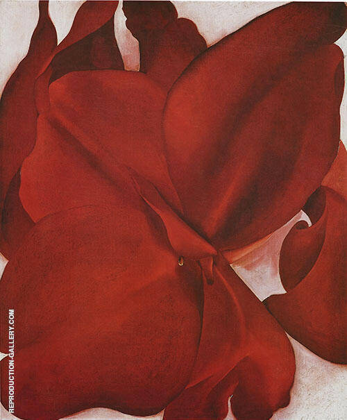 Red Cannas 1927 Painting By Georgia O'Keeffe - Reproduction Gallery