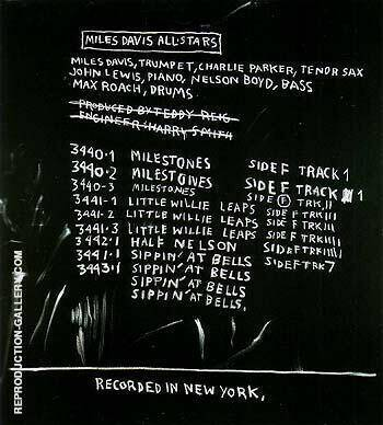 Discography Two 1983 By Jean-Michel-Basquiat
