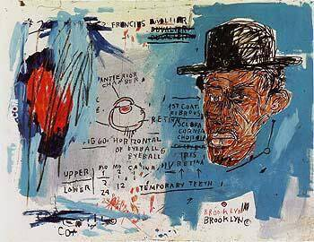 PPCD Painting By Jean-Michel-Basquiat - Reproduction Gallery