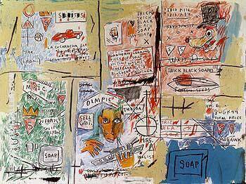 Reproduction of Olympic by Jean-Michel-Basquiat | Oil Painting Replica On CanvasReproduction Gallery