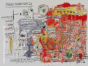 Liberty Painting By Jean-Michel-Basquiat - Reproduction Gallery