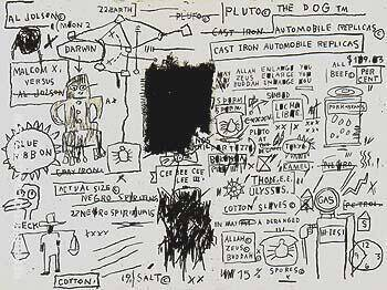Replicas By Jean-Michel-Basquiat Replica Paintings on Canvas - Reproduction Gallery