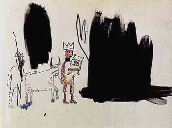 Dwellers in the Marshes By Jean-Michel-Basquiat Replica Paintings on Canvas - Reproduction Gallery