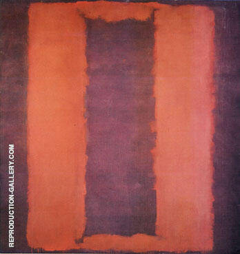 Untitled Seagram Mural Sketch 1958 By Mark Rothko