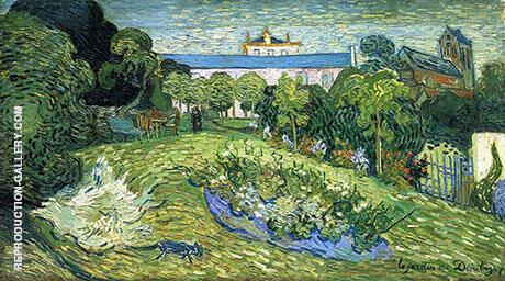 Daubigney's Garden 1 1890 By Vincent van Gogh