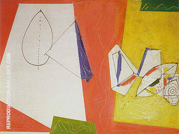 Composition No 5 By Hans Hofmann