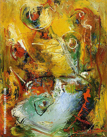 Ascop 1949 By Hans Hofmann Replica Paintings on Canvas - Reproduction Gallery