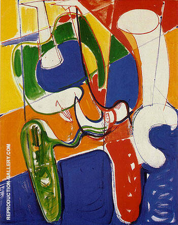 Gestation By Hans Hofmann