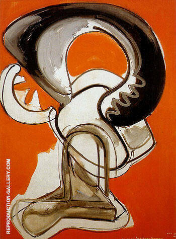 Furry 1946 By Hans Hofmann