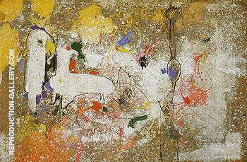 Reproduction of Palimpsest 1946 by Hans Hofmann | Oil Painting Replica On CanvasReproduction Gallery
