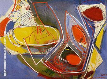 Obliquite 1947 By Hans Hofmann