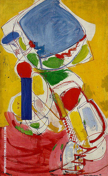 Solstice 1946 By Hans Hofmann Replica Paintings on Canvas - Reproduction Gallery
