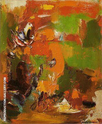 Untitled 1965 By Hans Hofmann Replica Paintings on Canvas - Reproduction Gallery
