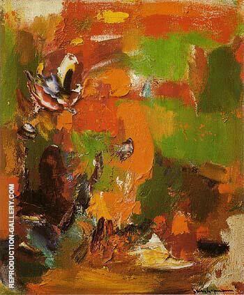 Untitled 1965 By Hans Hofmann