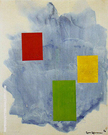 The Southwind 1964 Painting By Hans Hofmann - Reproduction Gallery