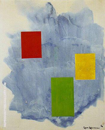 The Southwind 1964 By Hans Hofmann
