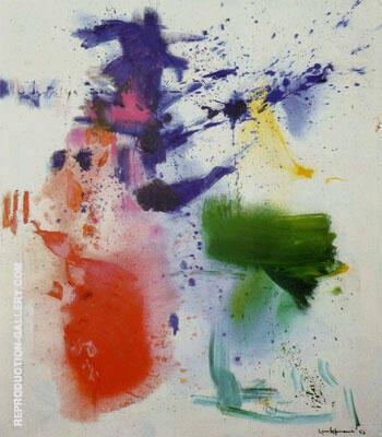 Furioso 1963 By Hans Hofmann