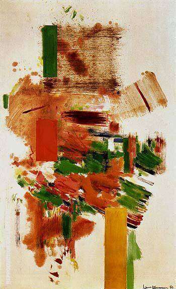Fete Champetre 1963 By Hans Hofmann - Oil Paintings & Art Reproductions - Reproduction Gallery