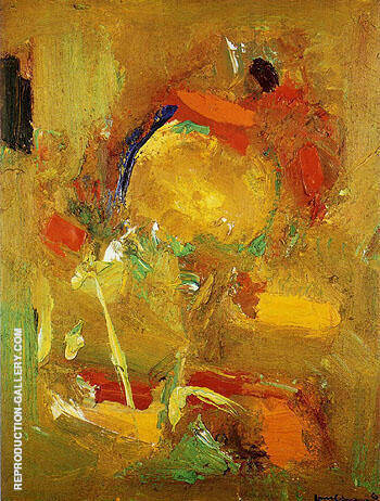 Genius Logic 1963 By Hans Hofmann Replica Paintings on Canvas - Reproduction Gallery
