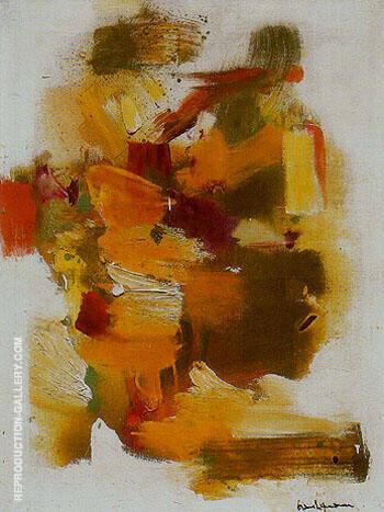 Golden Autumn 1963 By Hans Hofmann