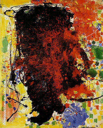 Vendetta 1962 By Hans Hofmann Replica Paintings on Canvas - Reproduction Gallery