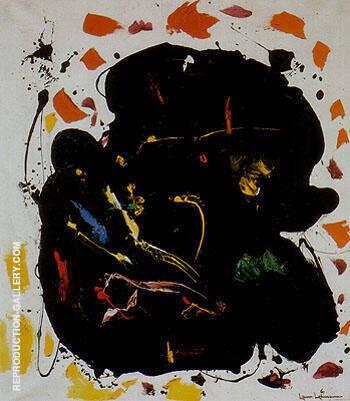 Black Diamond 1961 By Hans Hofmann