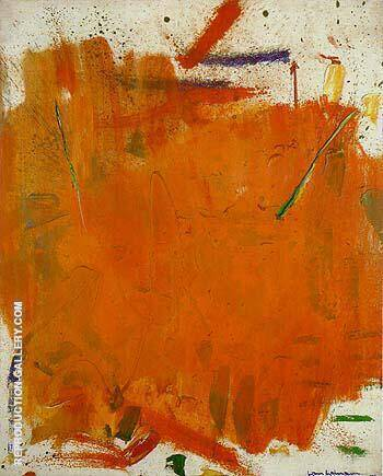 Hazy Sun 1961 By Hans Hofmann Replica Paintings on Canvas - Reproduction Gallery