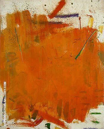 Hazy Sun 1961 By Hans Hofmann