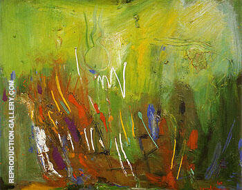 First Sprouting 1961 By Hans Hofmann