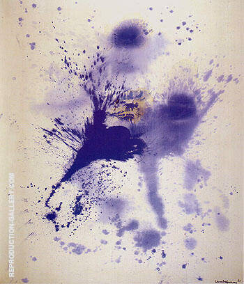 Astral Nebula 1961 By Hans Hofmann