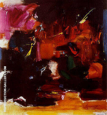 Summer Night Bliss 1961 By Hans Hofmann Replica Paintings on Canvas - Reproduction Gallery