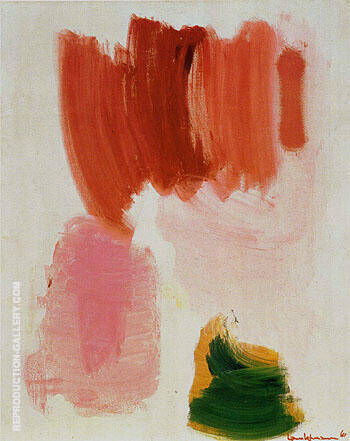 Delirious Pink 1961 By Hans Hofmann