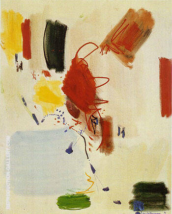 The Voice of the Wind 1961 By Hans Hofmann