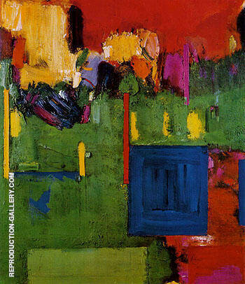 Image of Cape Cod The Pond Country Wellfleet 1961 By Hans Hofmann