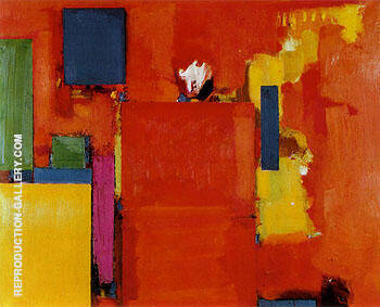 The Golden Wall 1961 By Hans Hofmann - Oil Paintings & Art Reproductions - Reproduction Gallery
