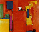 The Golden Wall 1961 By Hans Hofmann