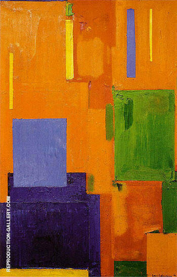 Leise zieht durch mein Gemuht liebliches Gelaute By Hans Hofmann - Oil Paintings & Art Reproductions - Reproduction Gallery