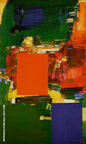 Olive Grove 1960 By Hans Hofmann - Oil Paintings & Art Reproductions - Reproduction Gallery
