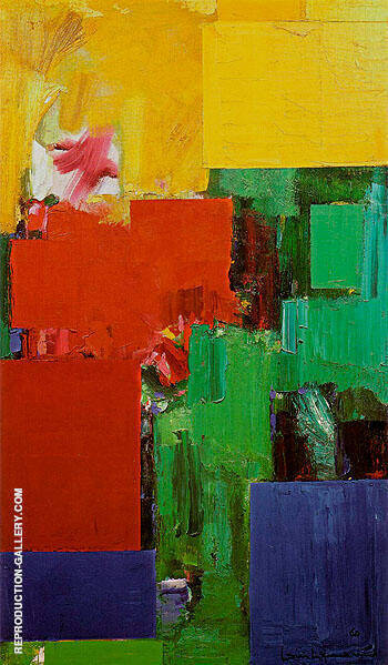 Elyseum 1959 By Hans Hofmann - Oil Paintings & Art Reproductions - Reproduction Gallery